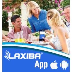 L'App Laxiba Abonnement : 4,70€ / mois ou 42,00€ / année. La version d'essai :